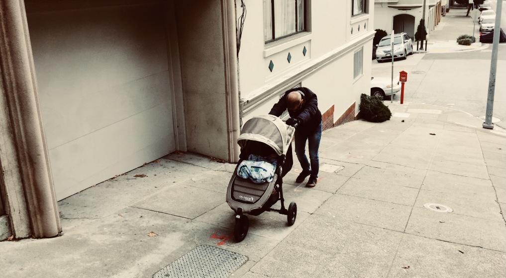 pessimistic stroller